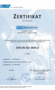 DIN EN ISO 3834-2 DE