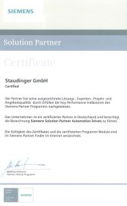 Siemens Solution Partner 2015