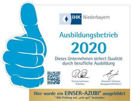 Ausbildungsbetrieb 2020