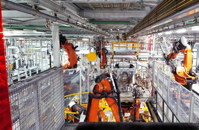 Reuse von Anlagenkomponenten im Karosseriebau