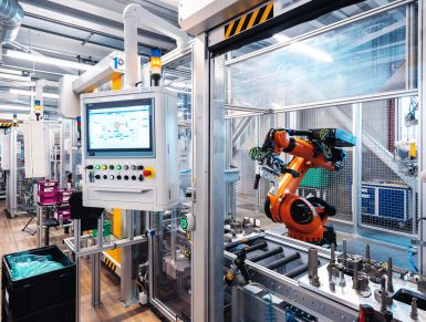 Montagelinie für Vorderachs- und Hinterachsgetriebe mit HOK